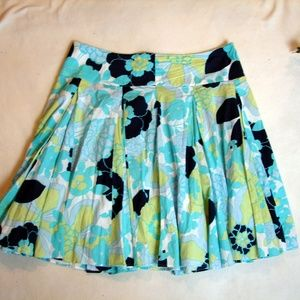 New York & Co. plus size floral circle skirt 16